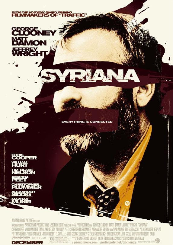 Syriana Movie poster